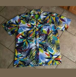Mens Hawaiian Shirt Size Large